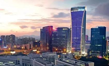 深圳标准建筑矢量图